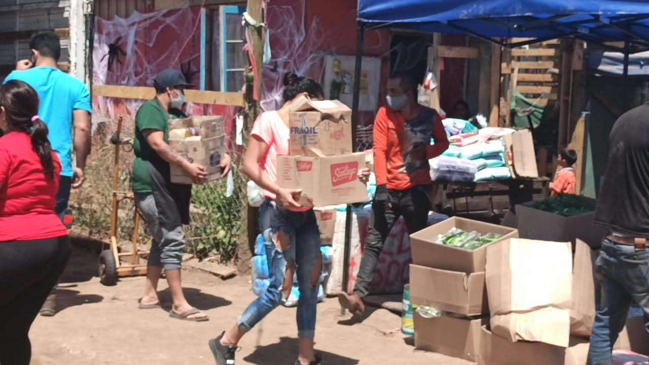 Hambre afectó a 600 mil personas en Chile